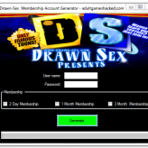 Drawn Sex Membership Account Generator